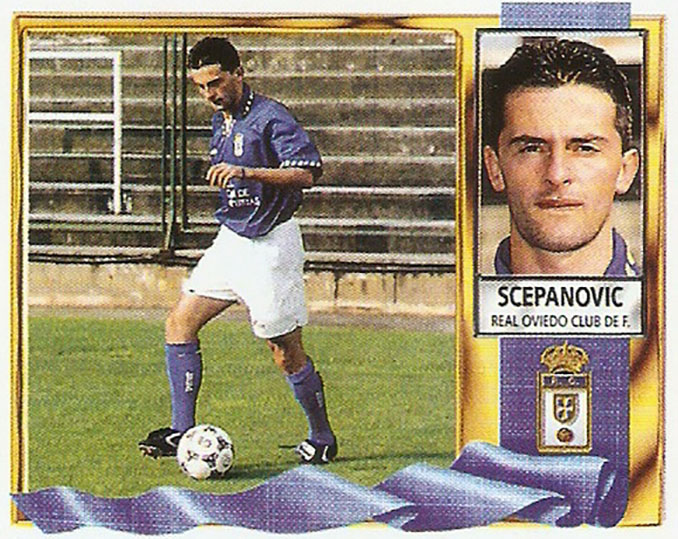 Cromo de Nebojsa Scepanovic - Odio Eterno Al Fútbol Moderno