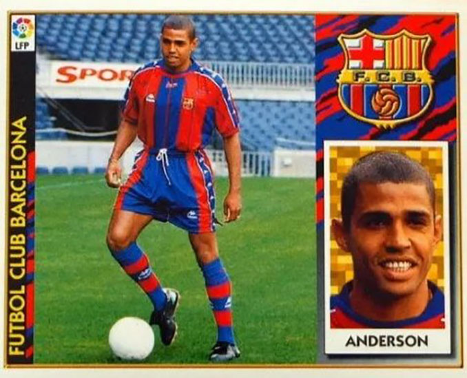 Cromo de Sonny Anderson - Odio Eterno Al Fútbol Moderno