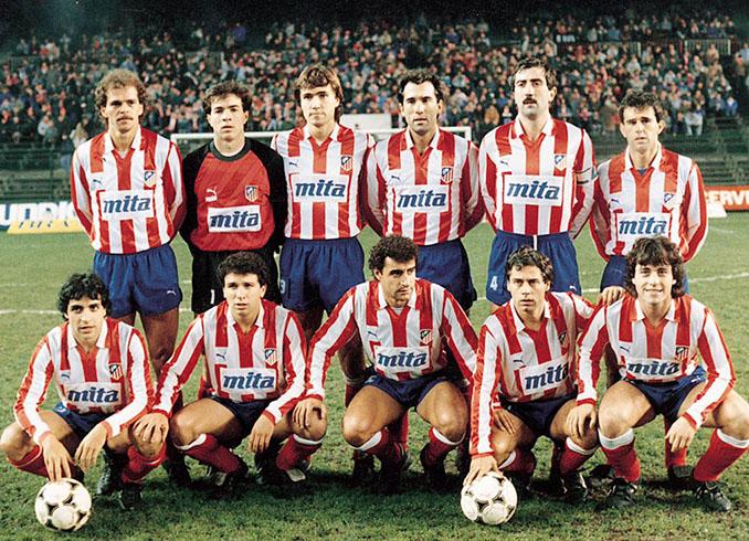 Once del Atleti en la 1987-1988 - Odio Eterno Al Fútbol Moderno
