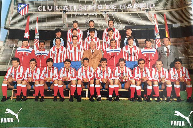 Atlético de Madrid en la temporada 1986-1987 - Odio Eterno Al Fútbol Moderno
