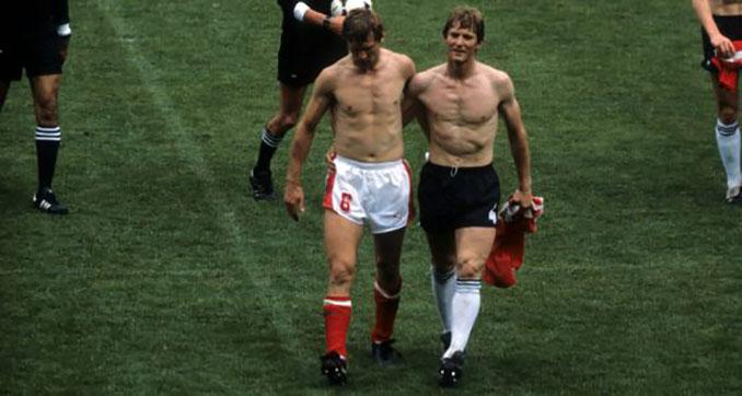"""Alemania vs Austria de 1982, el mayor """"biscotto"""" de la historia - Odio Eterno Al Fútbol Moderno"""