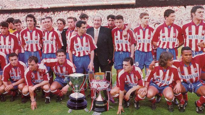 """""""Doblete"""" del Atlético de Madrid en la temporada 1995-1996 - Odio Eterno Al Fútbol Moderno"""