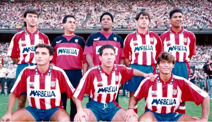 """""""Pacho"""" Maturana junto a los fichajes rojiblancos de la temporada 94-95 - Odio Eterno Al Fútbol Moderno"""