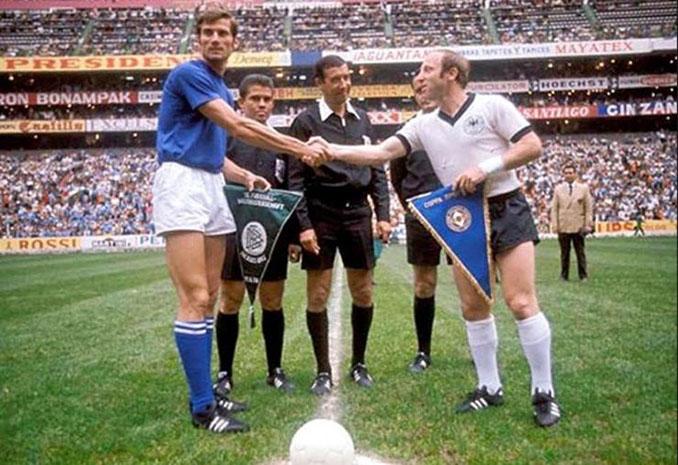 """""""El partido del siglo"""" se disputó el 17 de junio de 1970 en el Estadio Azteca - Odio Eterno Al Fútbol Moderno"""