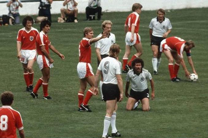 """""""El pacto de El Molinón"""", el """"biscotto"""" del Alemania vs Austria de 1982 - Odio Eterno Al Fútbol Moderno"""