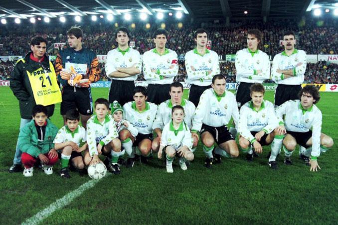 Racing de Santander en la temporada 1994-1995 - Odio Eterno Al Fútbol Moderno