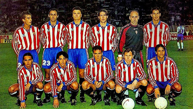 Sporting de Gijón en la 97-98, el peor equipo de la Liga - Odio Eterno Al Fútbol Moderno