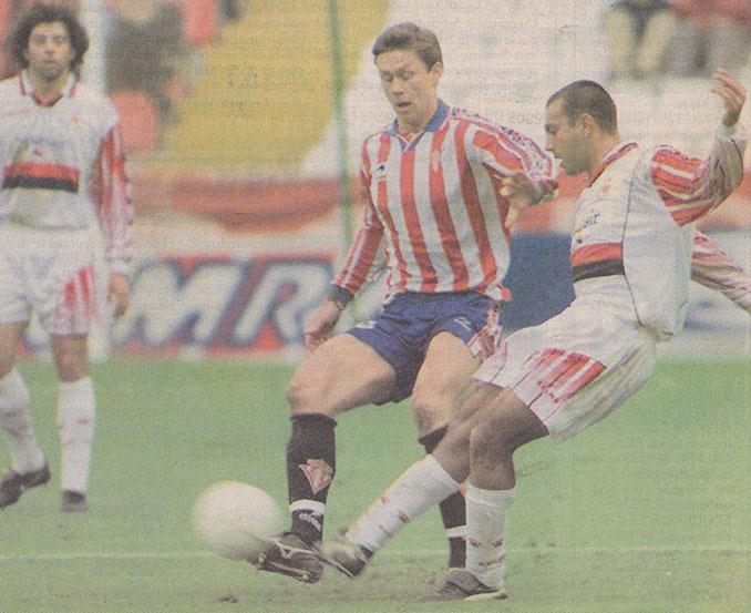 El Mallorca endosó al Sporting la mayor goleada de la temporada 97-98 - Odio Eterno Al Fútbol Moderno