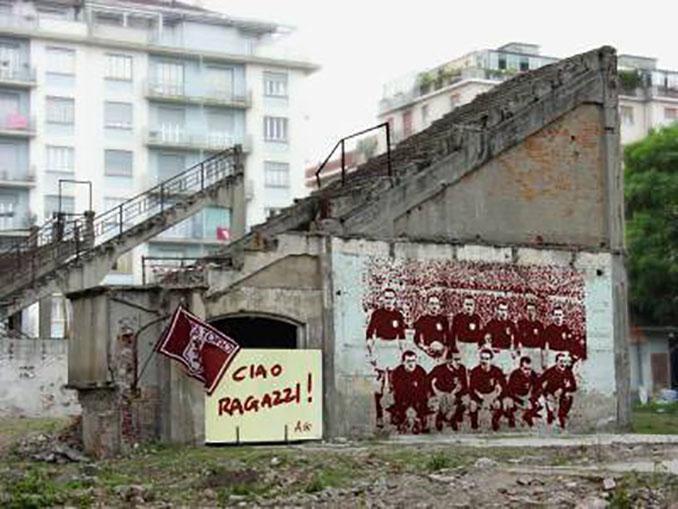 Ruinas del Stadio Filadelfia - Odio Eterno Al Fútbol Moderno