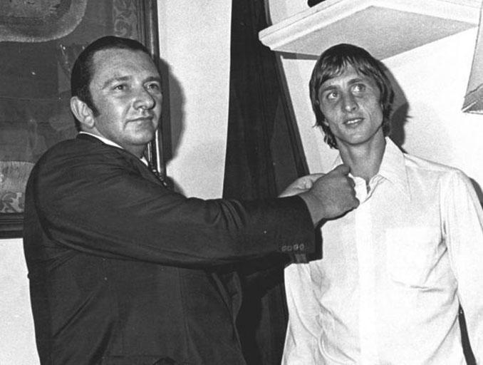 Agusti Montal, el presidente que llevó a Cruyff al Camp Nou - Odio Eterno Al Fútbol Moderno