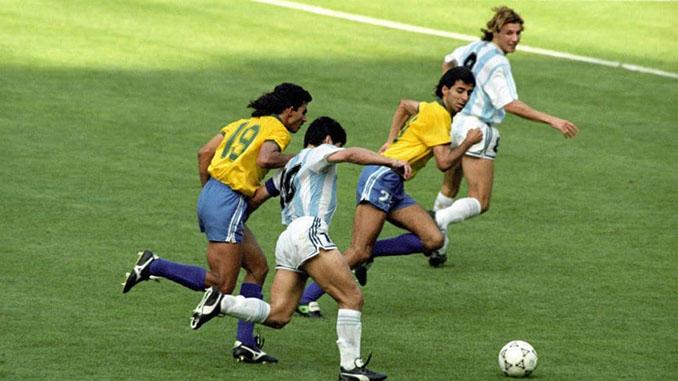 Gol de Caniggia a Brasil en el Mundia de 1990 - Odio Eterno Al Fútbol Moderno