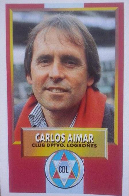 Cromo de Carlos Aimar - Odio Eterno Al Fútbol Moderno