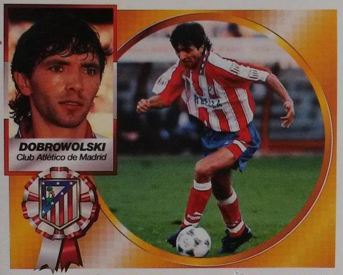 Cromo de Igor Dobrovolski - Odio Eterno Al Fútbol Moderno