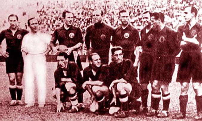 Selección española en 1934 - Odio Eterno Al Fútbol Moderno