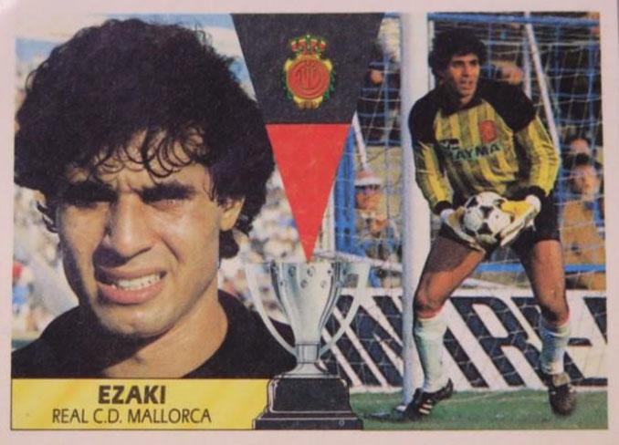 Cromo de Ezaki Badou - Odio Eterno Al Fútbol Moderno