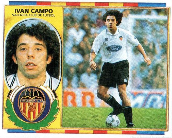Cromo de Iván Campo - Odio Eterno Al Fútbol Moderno