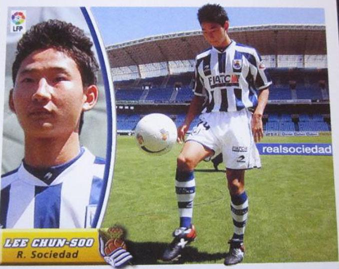Cromo de Lee Chun Soo - Odio Eterno Al Fútbol Moderno