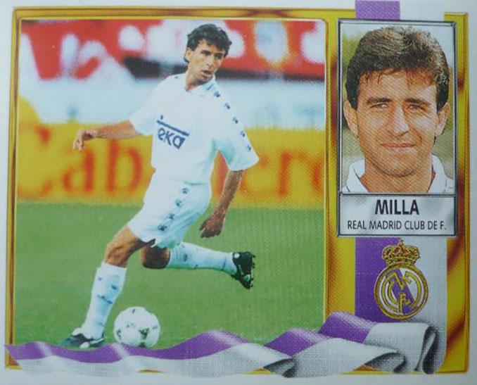 Cromo de Luis Milla - Odio Eterno Al Fútbol Moderno