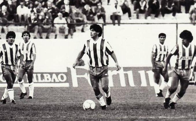El día que Maradona jugó en el Granada CF - Odio Eterno Al Fútbol Moderno