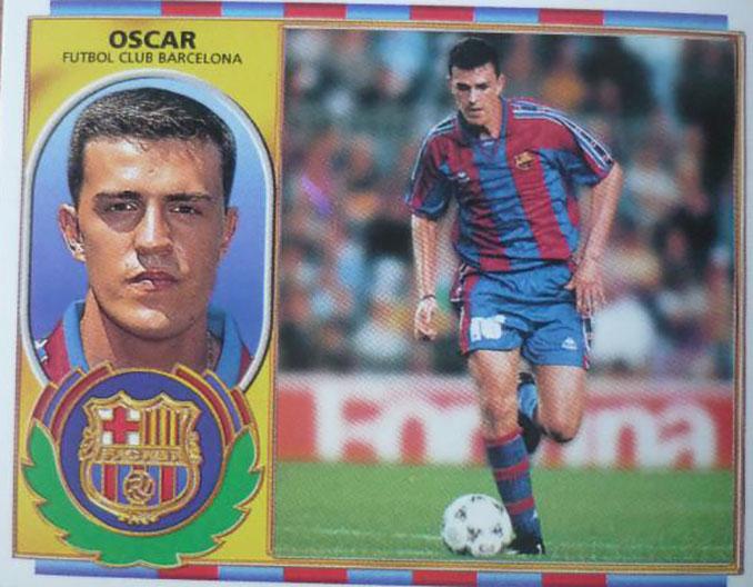 Cromo de Oscar García Junyent - Odio Eterno Al Fútbol Moderno