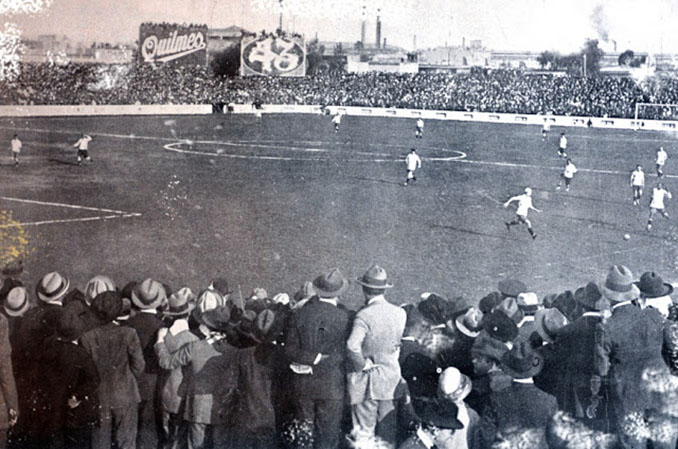 Argentina vs Uruguay disputado el 2 de octubre de 1924 - Odio Eterno Al Fútbol Moderno