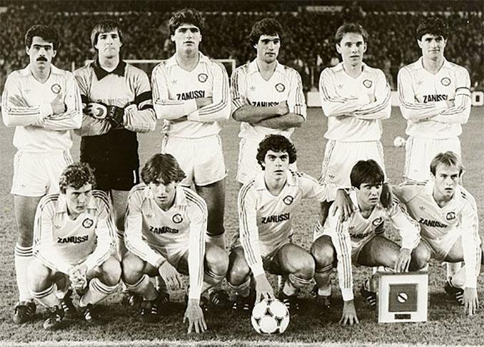Castilla FC, filial del Real Madrid, en la temporada 1983-1984 - Odio Eterno Al Fútbol Moderno