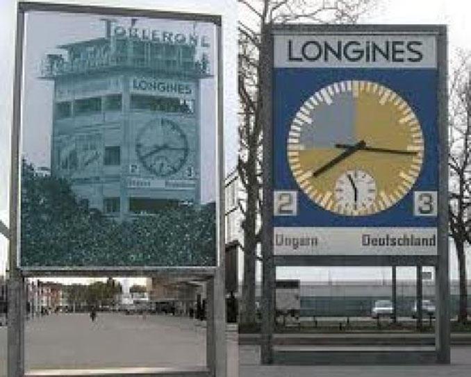 """Reloj que conmemora """"El Milagro de Berna"""" en el Wankdorfstadion - Odio Eterno Al Fútbol Moderno"""