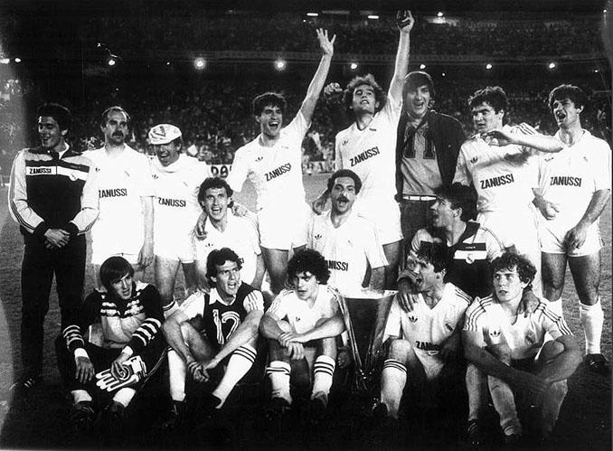 Real Madrid campeón de la Copa de la UEFA 1984-1985 - Odio Eterno Al Fútbol Moderno