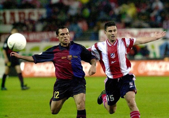 Partido de la Copa 1999-2000 entre Atlético de Madrid y FC Barcelona - Odio Eterno Al Fútbol Moderno