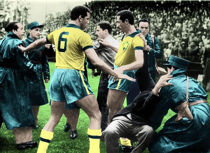 """Brasil y Hungría protagonizaron """"La Batalla de Berna"""" en 1954 - Odio Eterno Al Fútbol Moderno"""