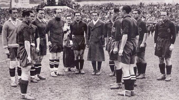 """España vs Italia del Mundial 1934 conocido como """"La batalla de Florencia"""" - Odio Eterno Al Fútbol Moderno"""