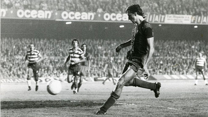 Debut de Cruyff con el FC Barcelona ante el Granada CF - Odio Eterno Al Fútbol Moderno