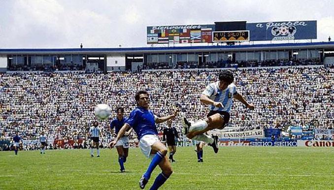 El gol imposible de Maradona a Italia - Odio Eterno Al Fútbol Moderno