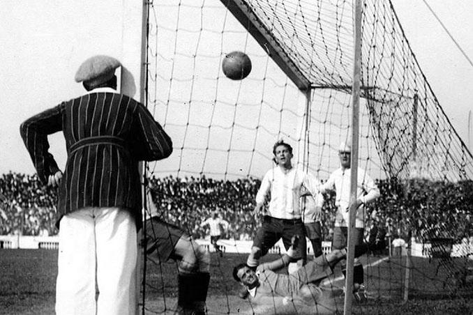 Cesáreo Onzari marcó el primer gol olímpico de la historia - Odio Eterno Al Fútbol Moderno