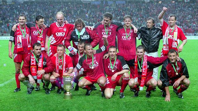 El FC Kaiserslautern conquistó su segunda Copa de Alemania en 1996 - Odio Eterno Al Fútbol Moderno