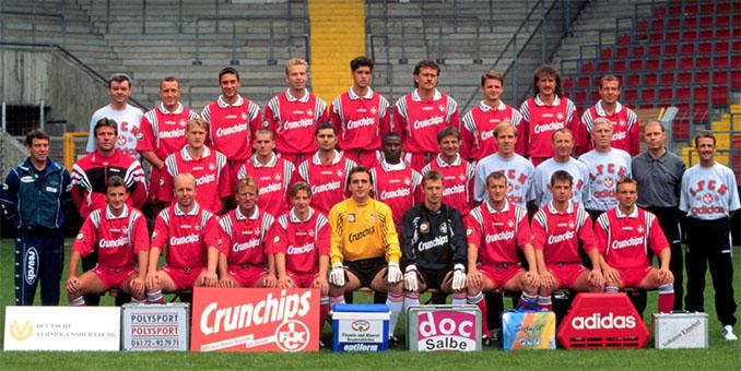 Plantilla del FC Kaiserslautern en la temporada 1997-1998 - Odio Eterno Al Fútbol Moderno