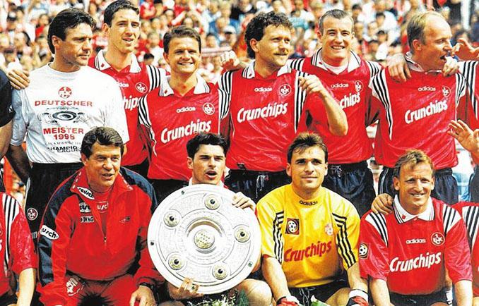 Celebración del segundo título de Bundesliga del FC Kaiserslautern en 1998 - Odio Eterno Al Fútbol Moderno