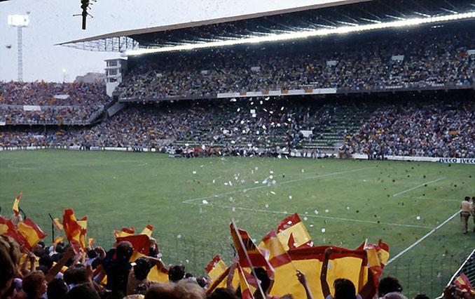 Estadio Luis Casanova en el Mundial de 1982 - Odio Eterno Al Fútbol Moderno