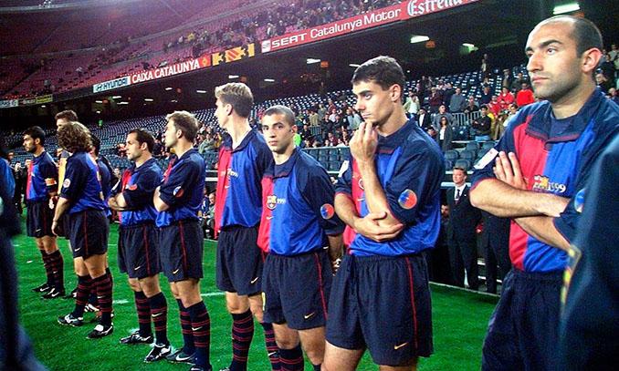 Plantón del Barcelona en la semifinal de Copa de la temporada 1999-2000 - Odio Eterno Al Fútbol Moderno