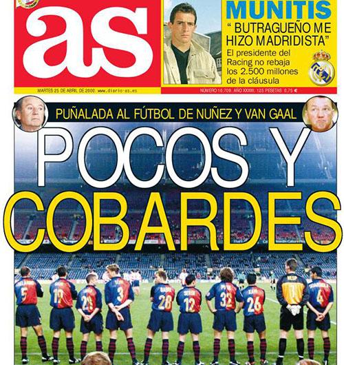 La prensa madrileña arremetió duramente tras el plantón del Barcelona al Atleti - Odio Eterno Al Fútbol Moderno