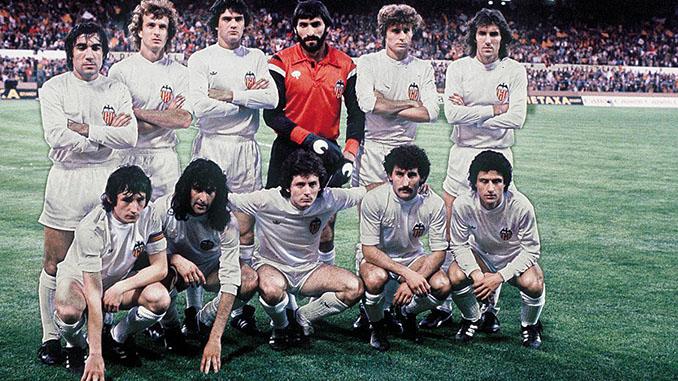 Valencia CF campeón de la Recopa de Europa en 1980 - Odio Eterno Al Fútbol Moderno