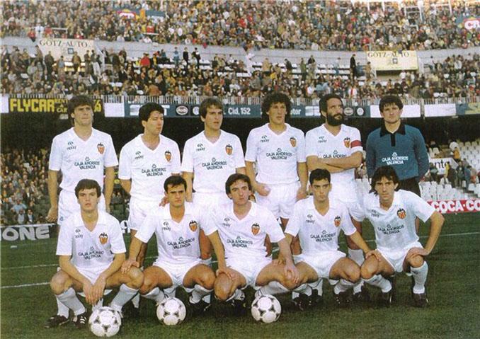 Valencia FC de mediados de los 80's - Odio Eterno Al Fútbol Moderno