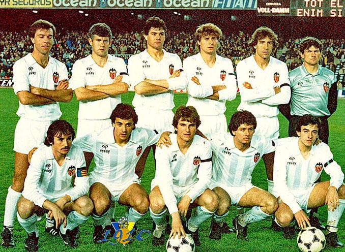 El Valencia coqueteó con el descenso en varias ocasiones durante la década de los 80 - Odio Eterno Al Fútbol Moderno
