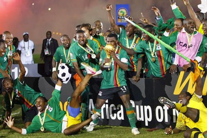 Zambia campeona de la Copa Africana de Naciones en 2012 - Odio Eterno Al Fútbol Moderno