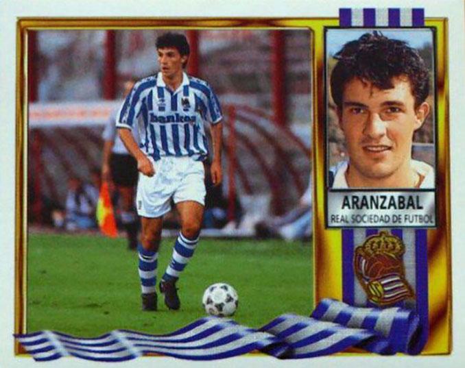 Cromo de Agustín Aranzabal - Odio Eterno Al Fútbol Moderno