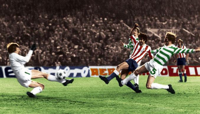 Atlético de Madrid vs Celtic de 1974 - Odio Eterno Al Fútbol Moderno