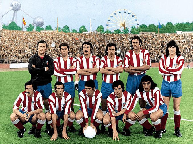 Atlético de Madrid en la final de la Copa de Europa e 1974 - Odio Eterno Al Fútbol Moderno