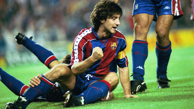 Bakero marcó dos goles en el mejor partido del Dream Team - Odio Eterno Al Fútbol Moderno