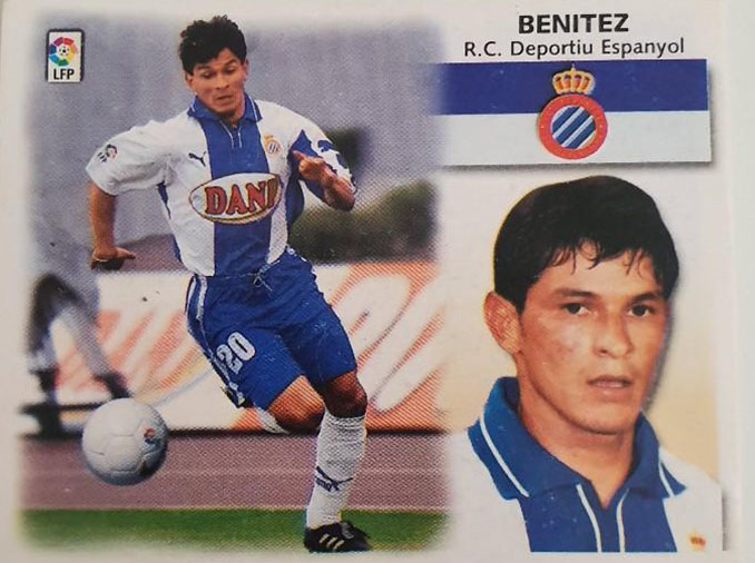 Cromo de Miguel Ángel Benítez - Odio Eterno Al Fútbol Moderno