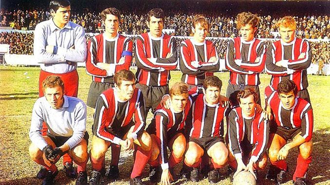 Chacarita Juniors campeón del Torneo Metropolitano de 1969 - Odio Eterno Al Fútbol Moderno